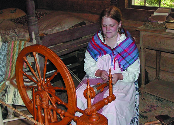 girl spinning wheel 2 cover
