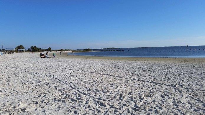 Crystal River beach
