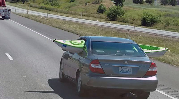 Kayak car
