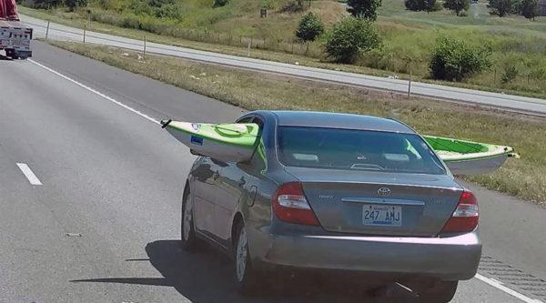 Kayak car