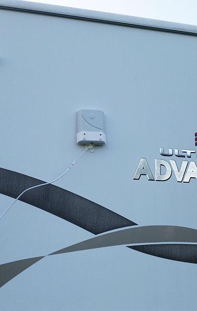 Antenna outside