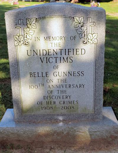 Bell Gunness victims