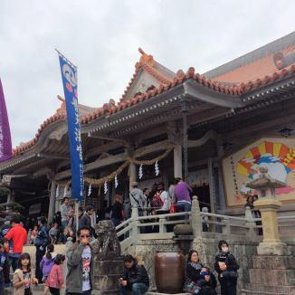 Futenman Shrine. It was packed!