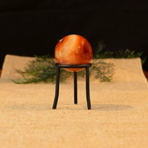 Carnelian Sphere with stand