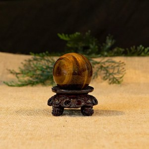 Tiger Eye Sphere with stand