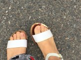 Can't wait wear sandals right after Massachusetts winter! Early Spring of 2016