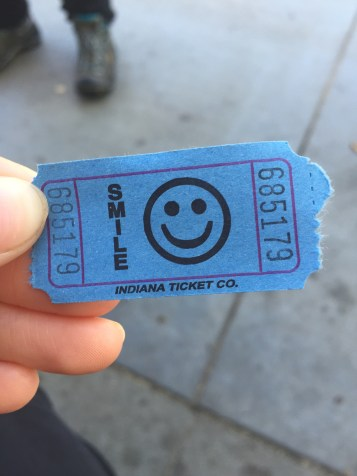 Tickets for smiles