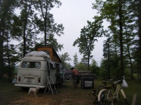 Morning of Day 2 at R Place Campground