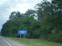 Crossing the State Line from LA to Miss