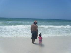 Daddy's Little Beach Girl