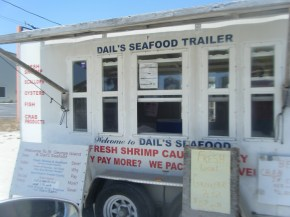 Roadside Seafood Stand on SGI