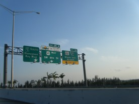 Miami Area to Florida Keys on Toll Road