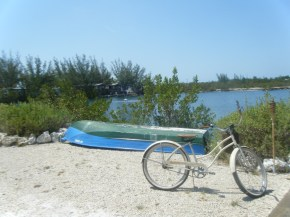 Old Bike and Old Boat