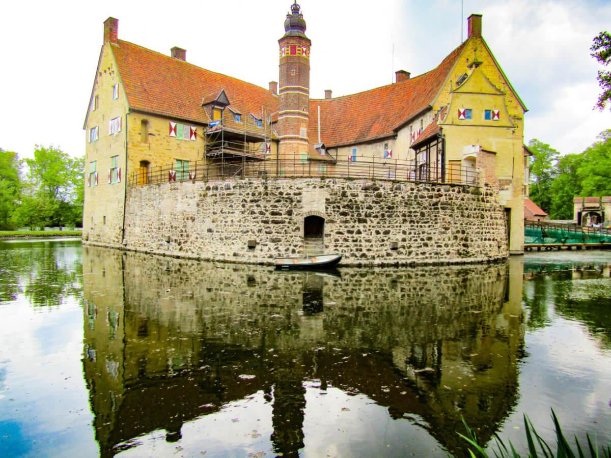 Vischering Castle- A Wasserschloss