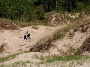 Indiana Dunes State Park Blowout