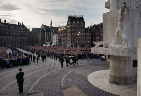 Remembrance Day of the Dead Wreath Laying