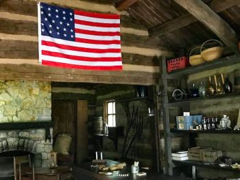 Lincoln Homestead, New Salem State Park, Illinois, US Destinations.