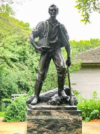 Lincoln Homestead, prior to his life in politics.
