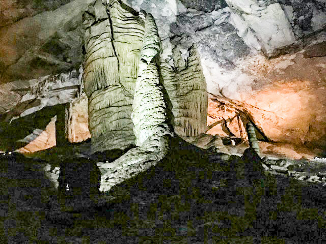 Cathedral Caverns State Park, Alabama, Cave Tour.