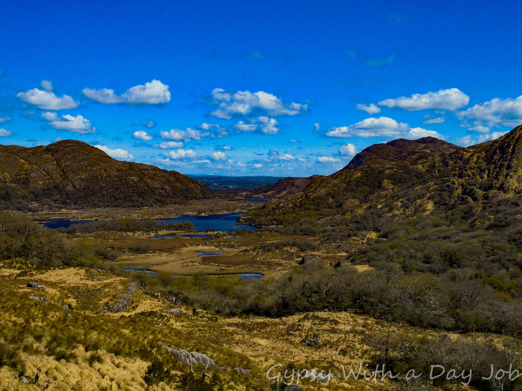 Sights on the Ring of Kerry, the Ladies View.