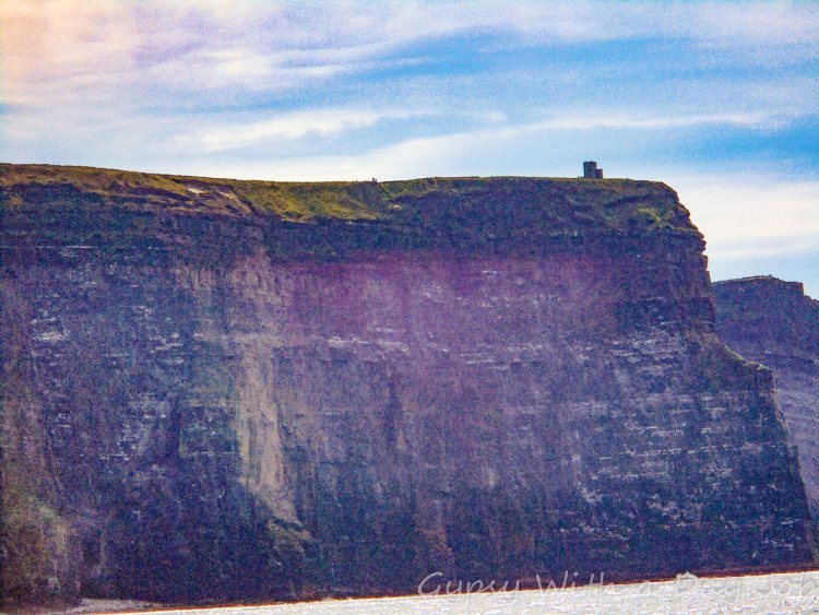 O'Brien's Tower and the Cliffs of Moher, Ireland highlights on an Ireland itinerary.