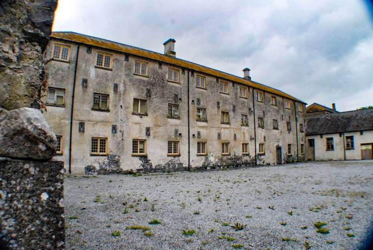 Portumna Workhouse, on our Ireland Route, one of our Ireland Highlights, and part of the Ireland Itinerary.