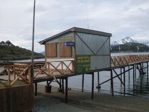 Delivering Love Letters Around the World, Ushuaia Post office end of the world.