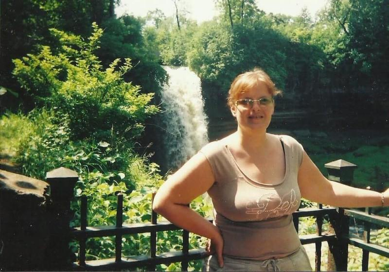 Weekend getaways, me enjoying Minnehaha Falls, in Minneapolis, Minnesaota, first solo trip.