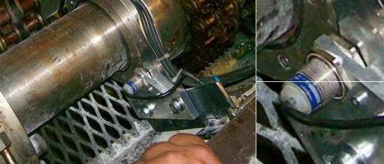 Bearing monitoring by measurement of shaft movement Gyrometric IME Sensing method