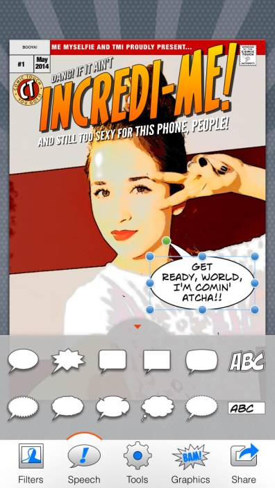 Comic Touch Speech Balloons, by Gyroscope Creative