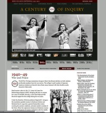 The 1940s, from Reed Centennial's website