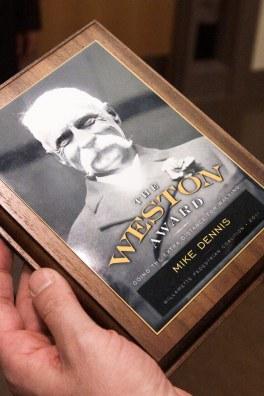 Oregon Walks Weston Award (Matt Giraud, Creative Director, Gyroscope Creative