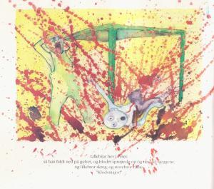 Blot en drengestreg af Villy Sørensen, illustrationer af Pernille Kløvedal Helweg