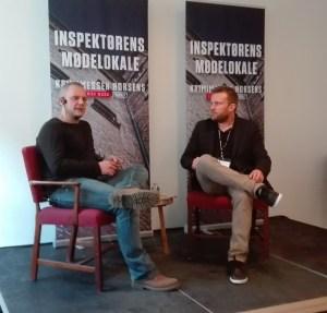 Patrick Leis og Jacob Holm Krogsøe