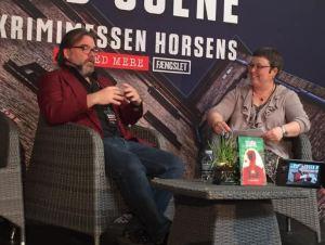 A. Silvestri interviewes af Jette Holst (foto: A. Silvestri)