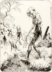 "Bernie Wrightson ""The Creeping Dead"""