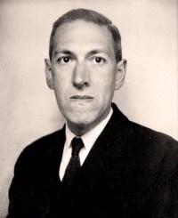Foto af H. P. Lovecraft taget af Lucius B. Truesdell, 1934