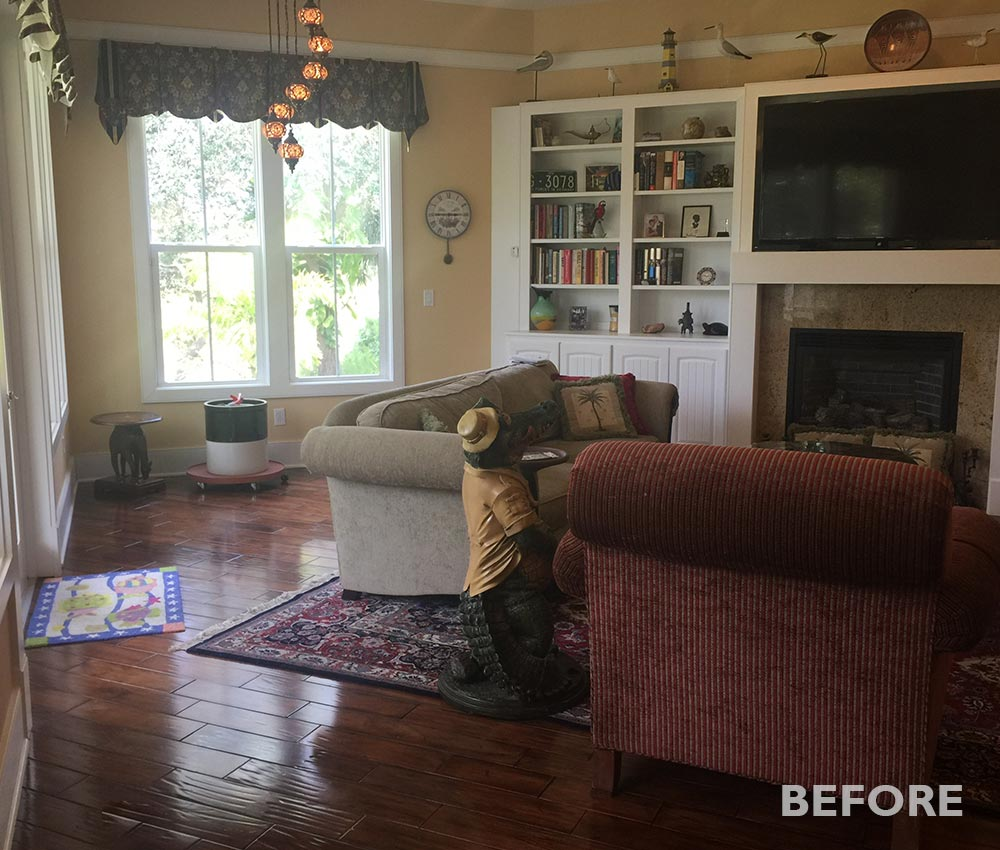 Living Room in St. Augustine before