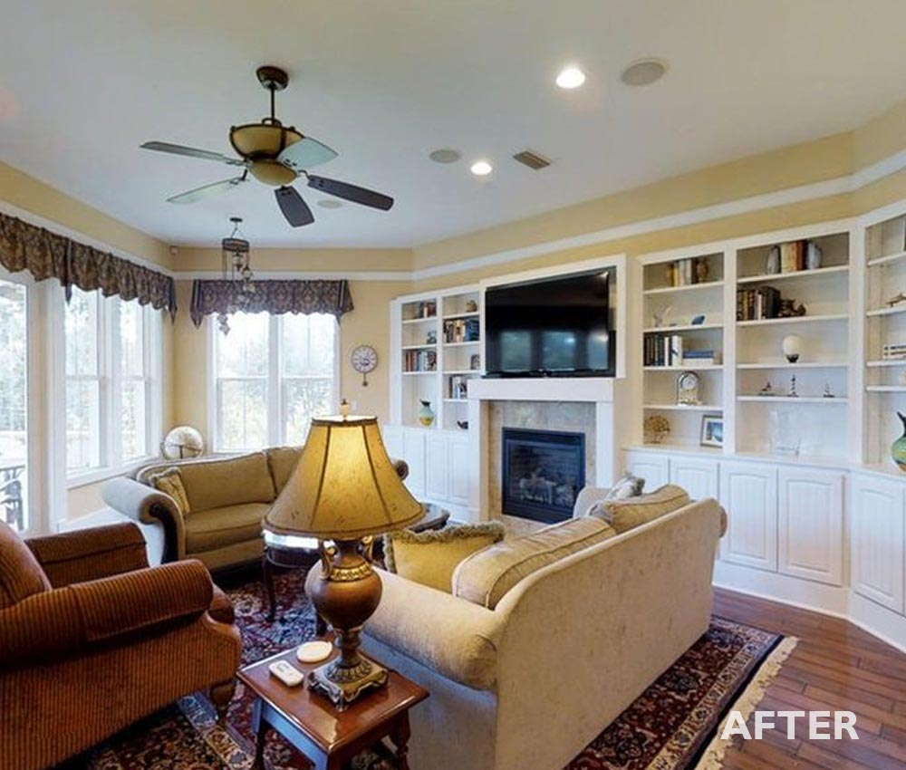 Living Room in St. Augustine after