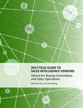 2017 Field Guide to Sales Intelligence Vendors