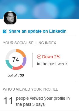 Sales Navigator Social Selling Index Score
