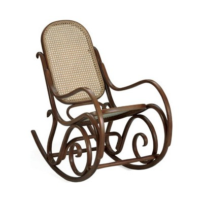 The Thonet Bentwood Rocking Chair has been in production for 150 years. It is a design classic.