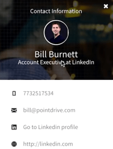 PointDrive Profile
