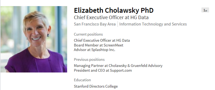 HG Data Cholawsky
