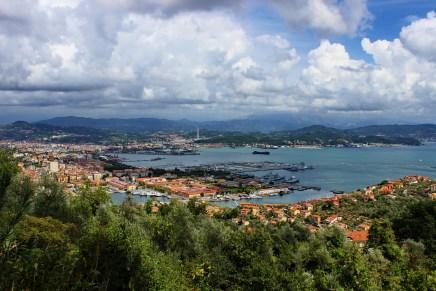 The cruise port of La Spezia
