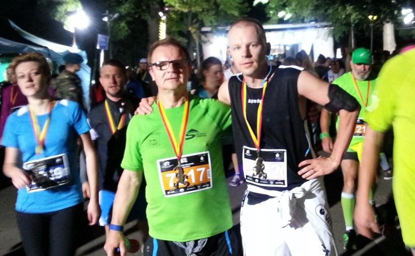 My first half-marathon finished in 2:04:10