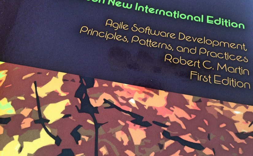 Agile Software Development - we received this book as part of the course materials