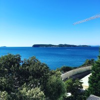 View from Lapad peninsula