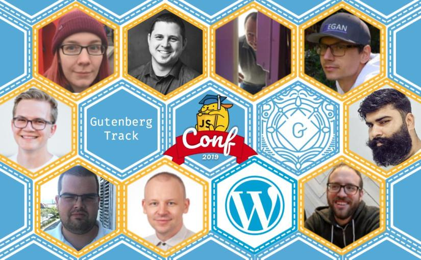 Gutenberg track at JavaScript for WordPress conference