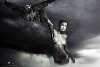 Model : Chucha - Photo: Aleksai - Art Work: Gonzalo Villar